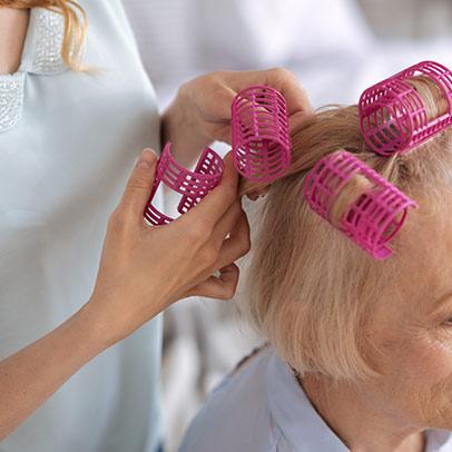 salon de coiffure EHPAD
